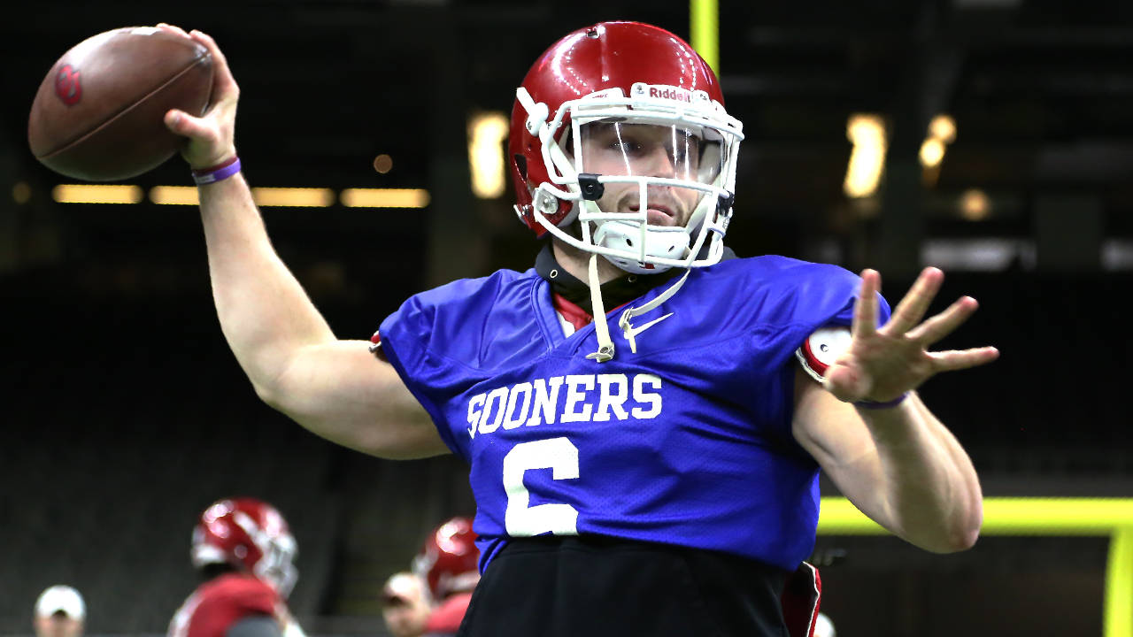 purchase cheap f86b1 19ea4 Baker Mayfield: Unscripted - University of Oklahoma