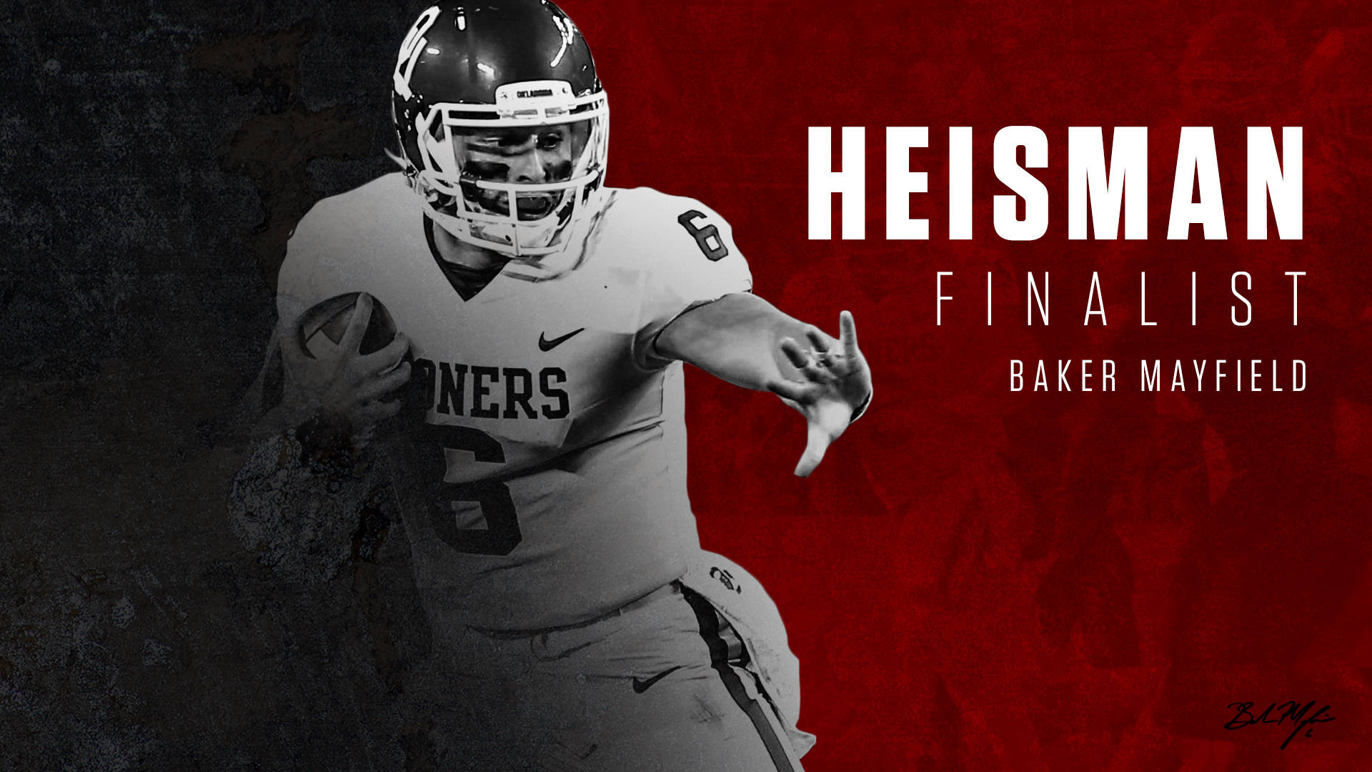 Mayfield a Heisman Finalist for 2nd Time - University of