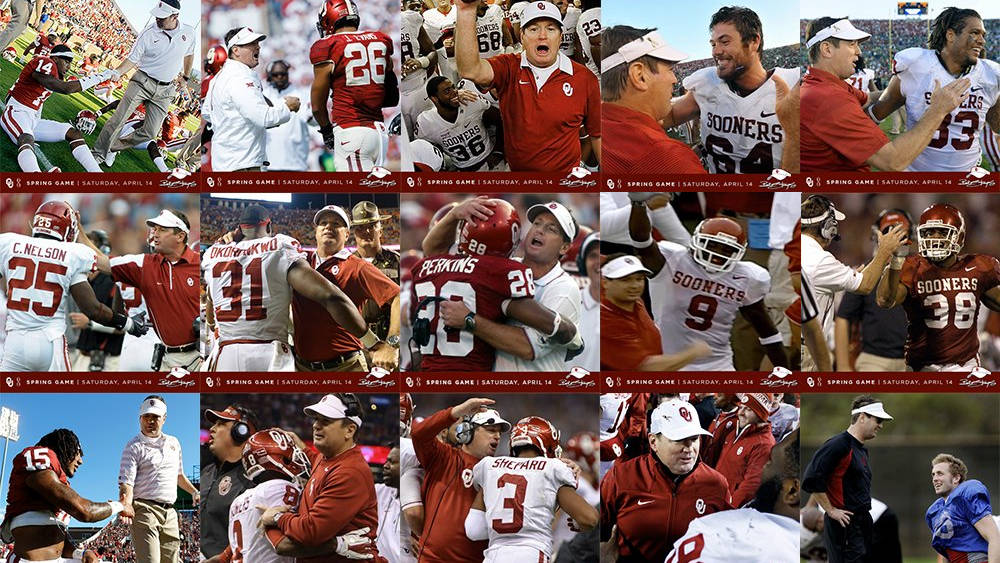 A Tip of the Visor to Coach Stoops - University of Oklahoma