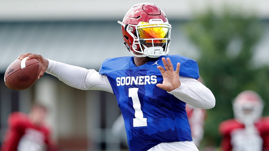 huge discount f73fc 2770b Kyler Murray Named Starting Quarterback - University of Oklahoma