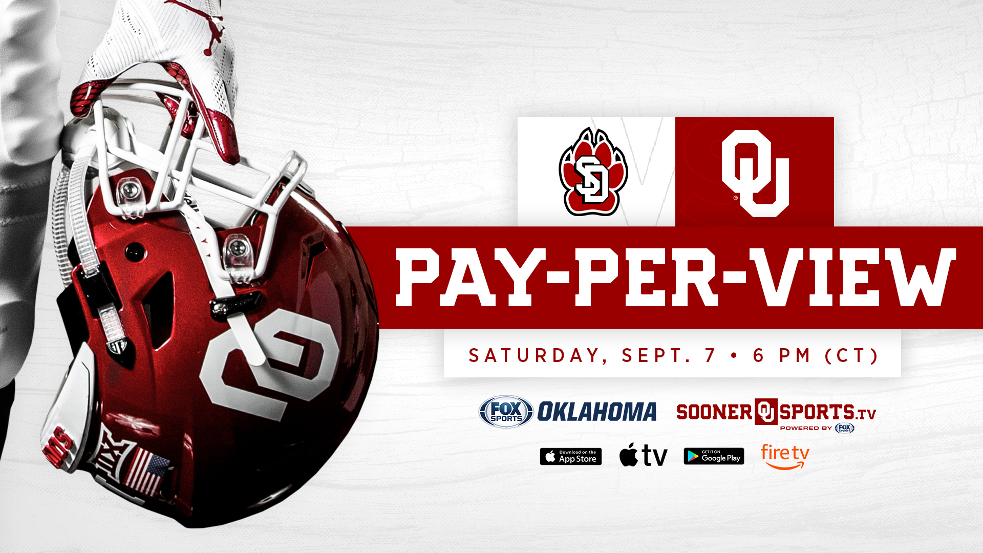 How To Watch Ou South Dakota On Ppv University Of Oklahoma