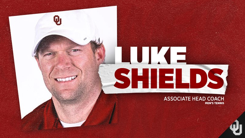 Shields Joins Males's Tennis Teaching Employees – College of Oklahoma